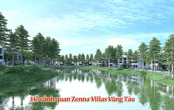 HỒ CẢNH QUAN Nơi tô điểm cho màu xanh của Zenna Villas với khung cảnh lãng mạn và thơ mộng.