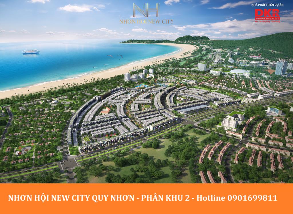 phoi canh nhon hoi new city phan khu 2