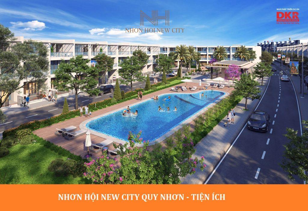 CONG VIEN NOI KHU NHON HOI NEW CITY