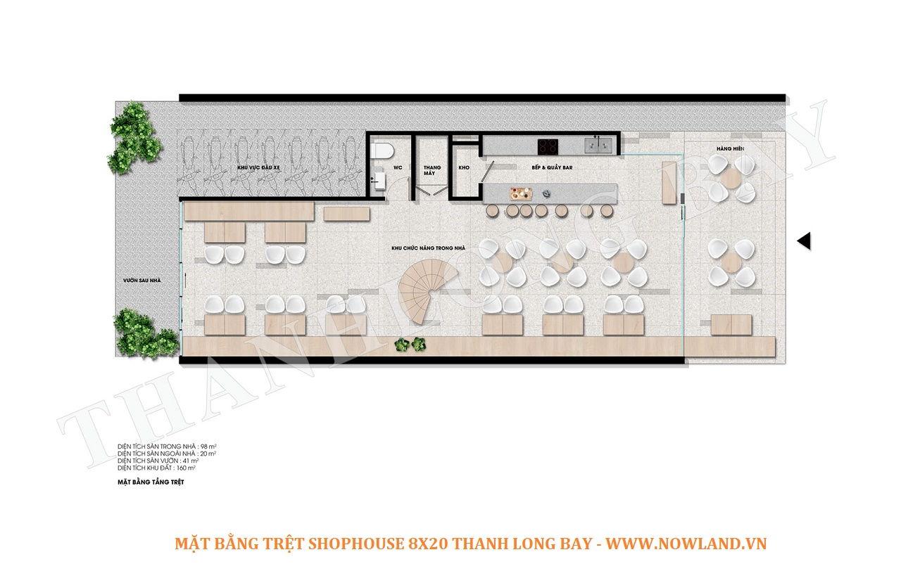 Tret 8 20 shophouse Thanh Long Bay