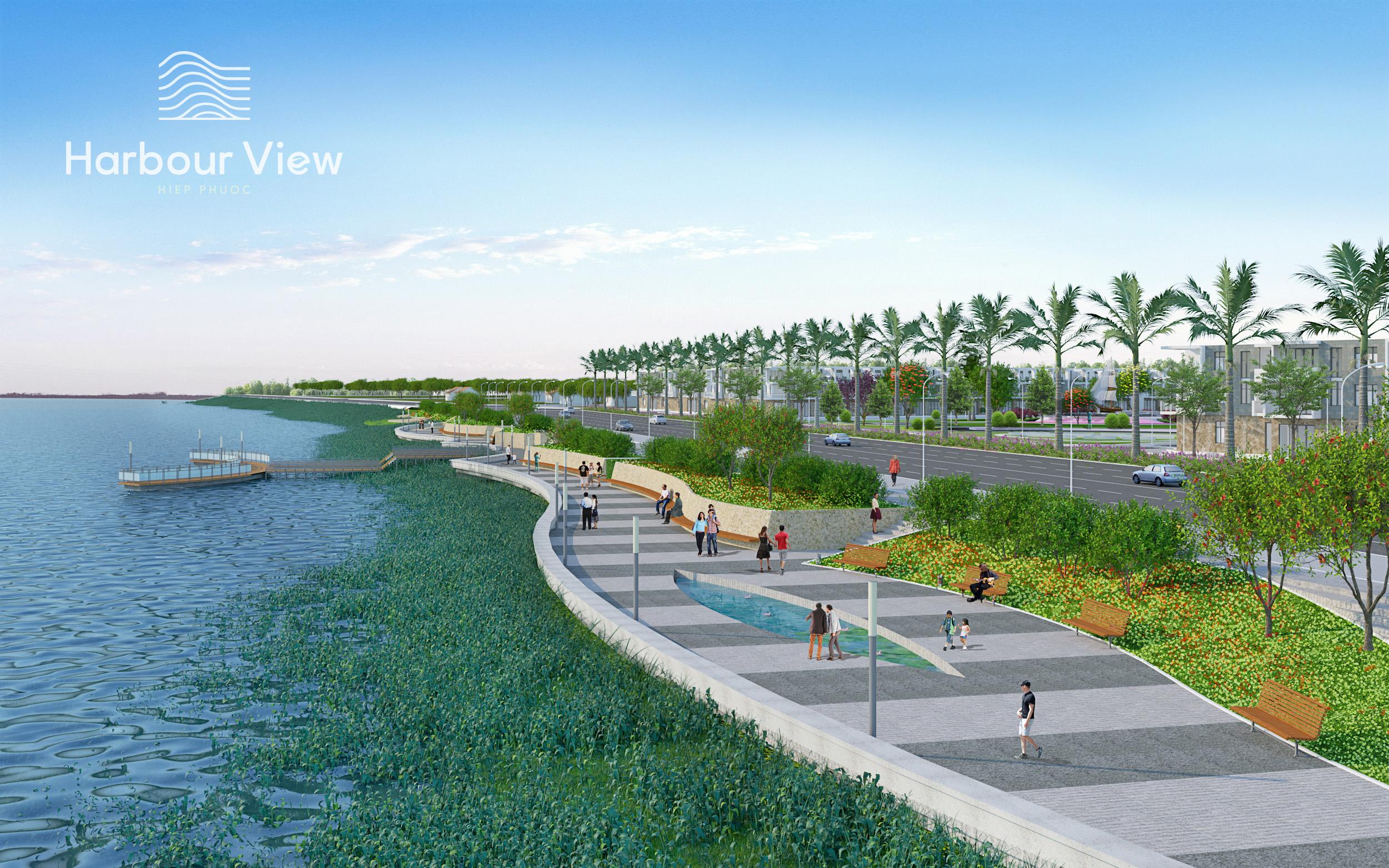 Công viên ven sông Hiep Phuoc Harbour View