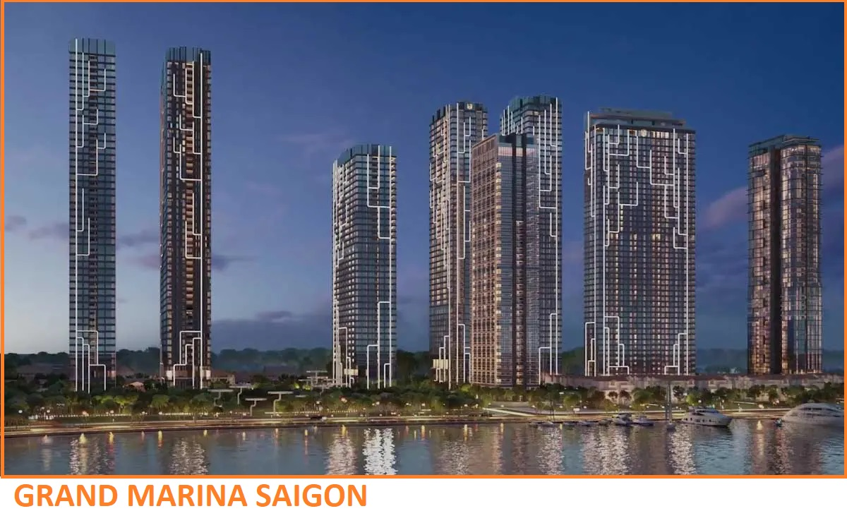 Phối cảnh Grand Marina Saigon