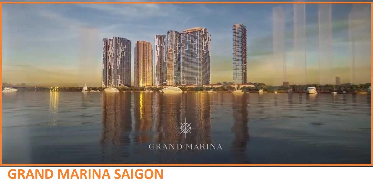 Grand Marina SaiGon view sông tuyệt đẹp