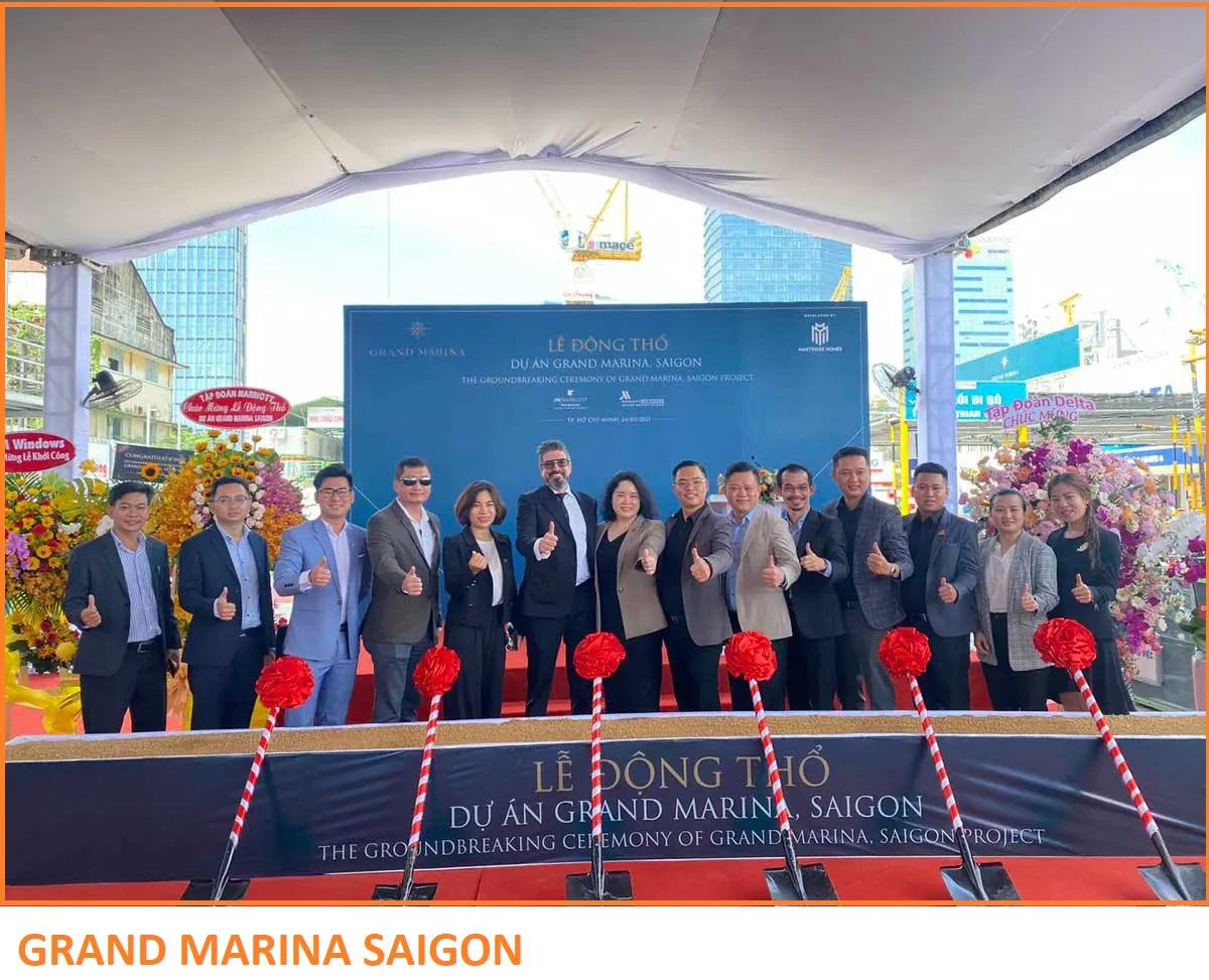 Lễ khởi công Dự án Grand Marina Saigon Quận 1