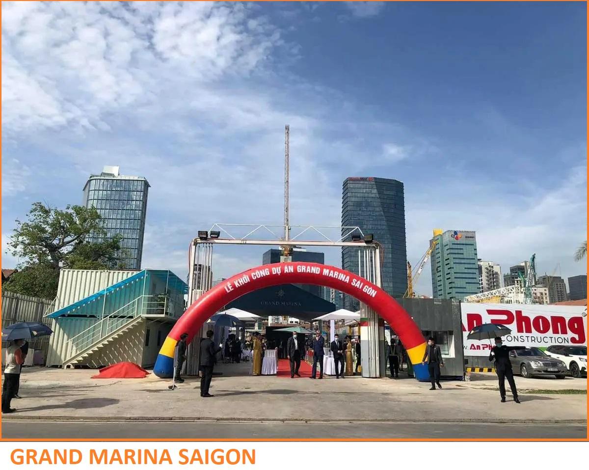Lễ khởi công Dự án Grand Marina Saigon Quận 1 Ngày 24/03/2021